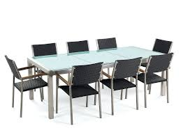 Glass Dining Room Tables With Extensions by Dining Tables Cracked Glass Dining Table Set Glass Dining Room