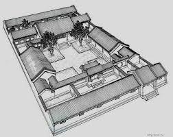 siheyuan floor plan xinxin