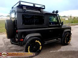 1997 land rover defender 90 1997 land rover defender 90 black rhino