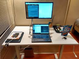 Micke Desk Ikea Review Sit Stand Desk Ikea Skarsta Review Chris Martin U0027s Blog
