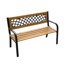 Garden Bench With Storage Outsunny 48