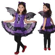 Kids Halloween Costumes Girls Aliexpress Buy Purple Batgirl Cosplay Costume Girls Vampire