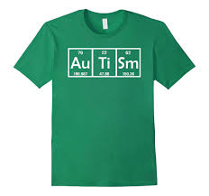 Green Table Gifts by Autism Gifts For Adults Funny Periodic Table T Shirt Goatstee