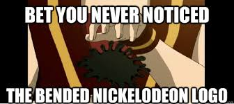 Nickelodeon Memes - bet you never noticed the bended nickelodeon logo nickelodeon