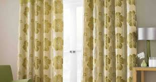 yellow faux silk curtains exclusive home virenze faux silk