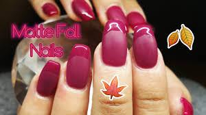 matte and gloss nail design featuring madam glam u0027trendy me