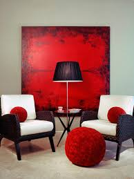 Red And White Modern Bedroom Modern Bedroom Lighting Hgtv