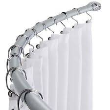 U Shaped Shower Curtain Rod Shower Curtain Rod Ebay