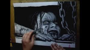 mia evil dead photorealistic drawing youtube