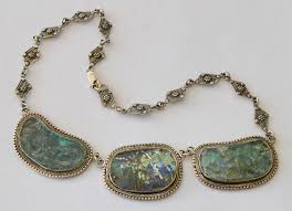 glass jewelry necklace images Silver quill antiques and gifts ancient roman glass jewelry jpg