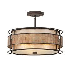 Quoizel Flush Mount Ceiling Light Quoizel Laguna Semi Flush Mount Free Shipping Today Overstock