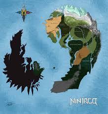 Go To My Maps Map Of Ninjago By Joshuad17 On Deviantart