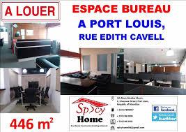espace bureau à louer espace bureau a louer port louis rue edith cavel port louis