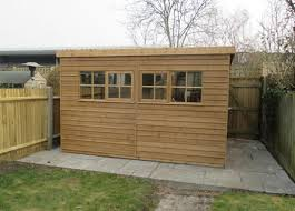 superior garden shed in wimbledon london free delivery
