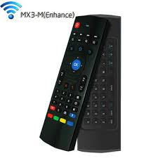 android tv box remote mx3 m wireless air mouse 2 4ghz keyboard with voice input