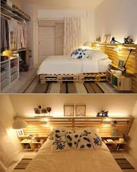 wohnideen schlafzimmer diy 60 wohnideen mit europaletten palettenmöbel selber bauen
