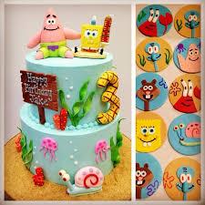 spongebob cake toppers spongebob cake and cupcake toppers toppers cake
