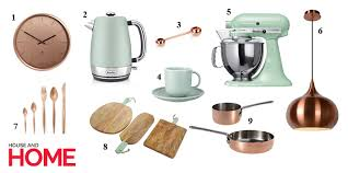 Mint Green Kitchen Accessories by Get The Look Mint And Copper Kitchen Accessories Houseandhome Ie