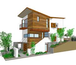 modern house design built on narrow lot idea home picture with