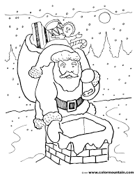 santa claus coloring sheet create a printout or activity
