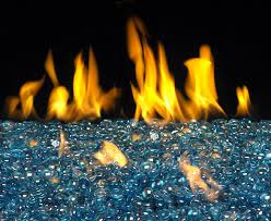 glass and crystals gas fire alternatives fireplace gas logs
