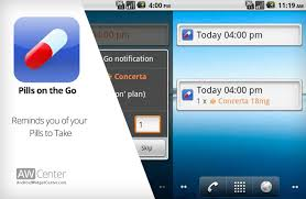 android reminder app pills on the go pill reminder app for android aw center