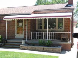Back Porch Awning Color Brite Awning Company Aluminum Railings Cleveland Ohio