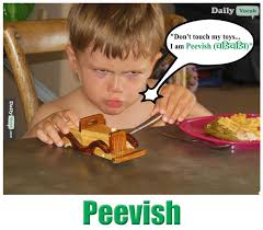 Meme Definition English - peevish meaning in hindi with picture dictionary
