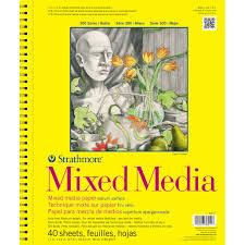 strathmore 300 series mixed media pad