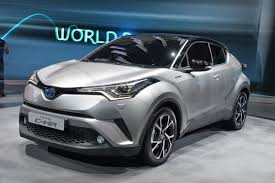 suv toyota chr toyota c hr production version unveiled autocar india