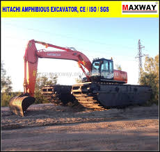 hitachi zaxis200 amphibious excavator for sale ce epa model
