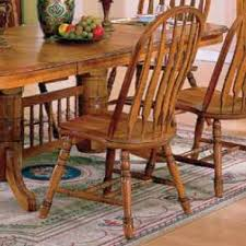 Windsor Dining Room Chairs Solid American Oak Table U0026 Windsor Back Chairs Set By E C I