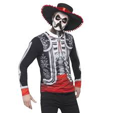 photorealistic day of the dead skeleton top with hat