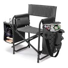 Folding Chair With Table Kamp Rite Director U0027s Chair With Side Table Free Shipping Today