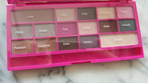 i heart makeup chocolate love palette live life things