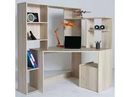 bureau d angle avec surmeuble bureau d angle avec surmeuble bureau dangle groove coloris acacia