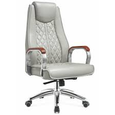 white upholstered office chair china factory executive gray pu leather upholstered office chairs
