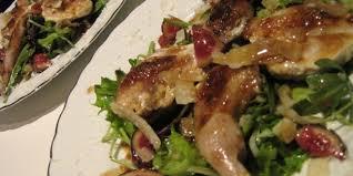 caille cuisine salade de caille au foie gras une recette exquise