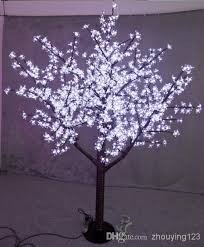 Outdoor Lighted Trees 1 5m 5ft Height Outdoor Artificial Tree Led Cherry