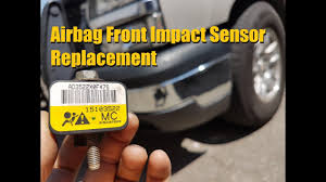 2006 chevy silverado service airbag light silverado sierra front impact airbag sensor replacement gm truck