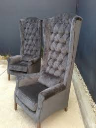 high back wing armchairs wing back dining chairs foter