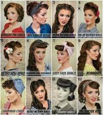 nice hairstyle for woman late 50s 50s hairstyles for long hair tutorial google search beauty