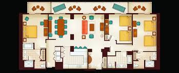 Hawaii Floor Plans Home Design Three Bedroom Grand Villa Aulani Hawaii Resort Amp