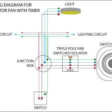 wiring extractor fan into light switch yondo tech
