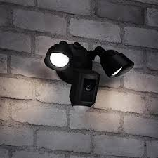 ring security light camera ring floodlight camera motion activated hd security cam two way talk