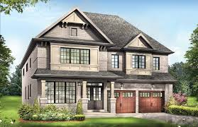models imagine townhomes and homes in niagara by empire