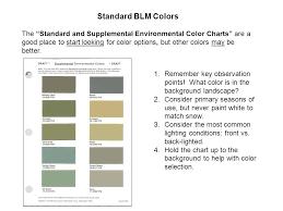 choice of color part 4 u s department of the interior bureau of