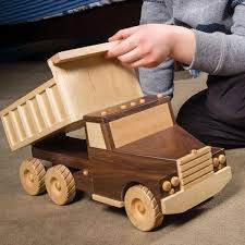 Wooden Toys Plans Free Trucks by Buy Tough Enough Dump Truck Downloadable Plan At Woodcraft Com