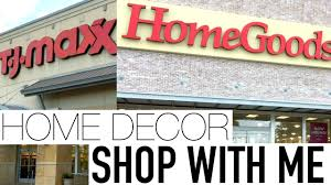 shop with me at tjmaxx u0026 homegoods spring home decor april