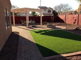 Arizona Backyard Design With Simple Backyard Pation Ideas Patio - Simple backyard design